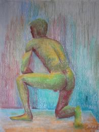 2006_barva 12, postava_suchý pastel